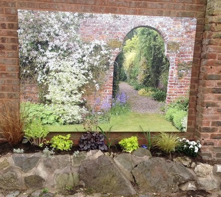 garden canvas - wall view